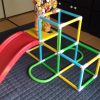 【おもちゃ】アンパンマンのジャングルパーク、1歳娘の室内運動に最適です