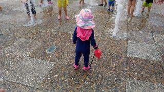 【おでかけ・おもちゃ・子育てグッズ】子どもに安心・大人も楽ちんな西宮での水遊びに♪阪急西宮ガーデンズのスカイガーデン!