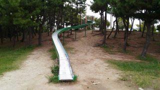 【公園】ようやく行けた!今津浜公園のロング滑り台♪と、北山ダムでジャリモ!
