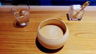 【カフェ記録】苦楽園口・三ツ豆珈琲の、三ツ豆ミルク珈琲