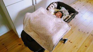 【育児グッズ】二人目を出産。やっぱり便利!二人目以降には特におすすめ☆ハイローチェア