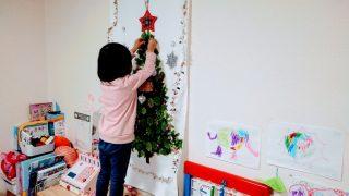 【クリスマス関連グッズ】クリスマスツリーは今年もニトリのタペストリー☆MARKS、カルディのアドベントカレンダー