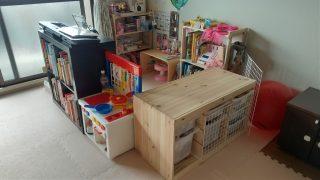 【続・赤ちゃんとの住み分け】上の子専用スペース作りに使ったもの